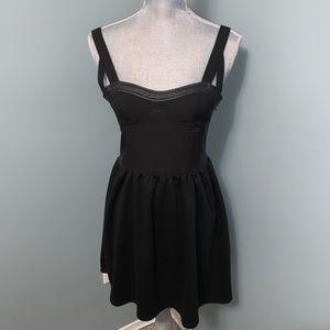 Honey Punch black party dress size large